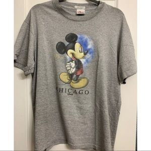 Awesome Mickey + Chicago T-shirt